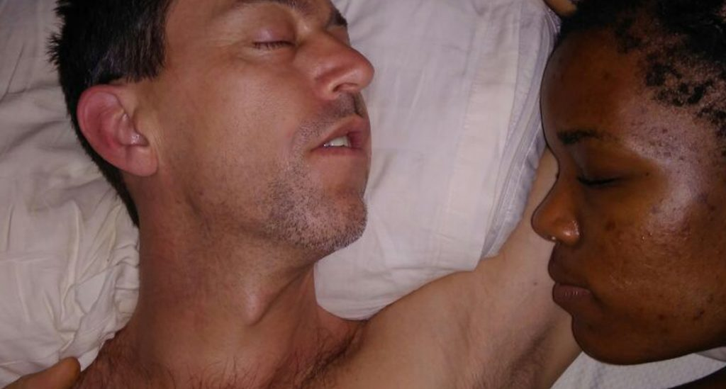Charity Stachini Swirl Love Steve Stachini Asleep
