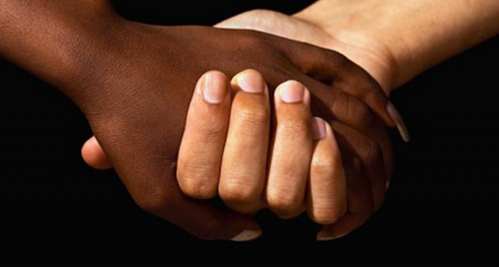 Parents Steve Charity Stachini Swirl Love Holding Hands