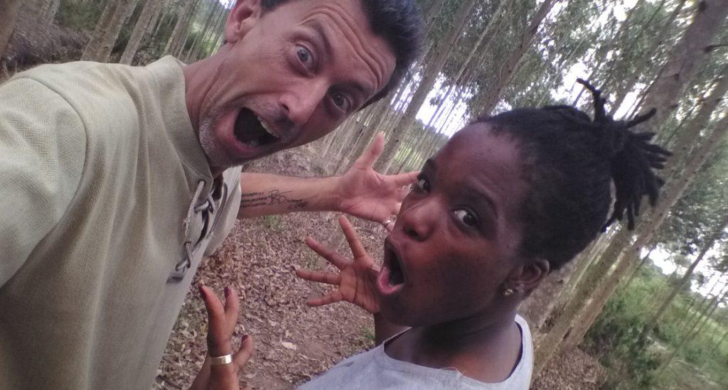 Parents Steve Charity Stachini Swirl Love In Woods
